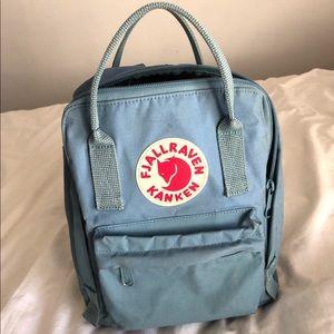 Fjallraven Kanken Mini Backpack, light blue